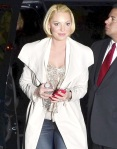 Katherine Heigl And Daughter Out In New York