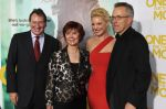 "Producer Lucchesi, author Evanovich, cast member Heigl, and producer Rosenberg arrive at film premiere of ""One For The Money"" at AMC Loews Lincoln Square on West 68th Street in New York"